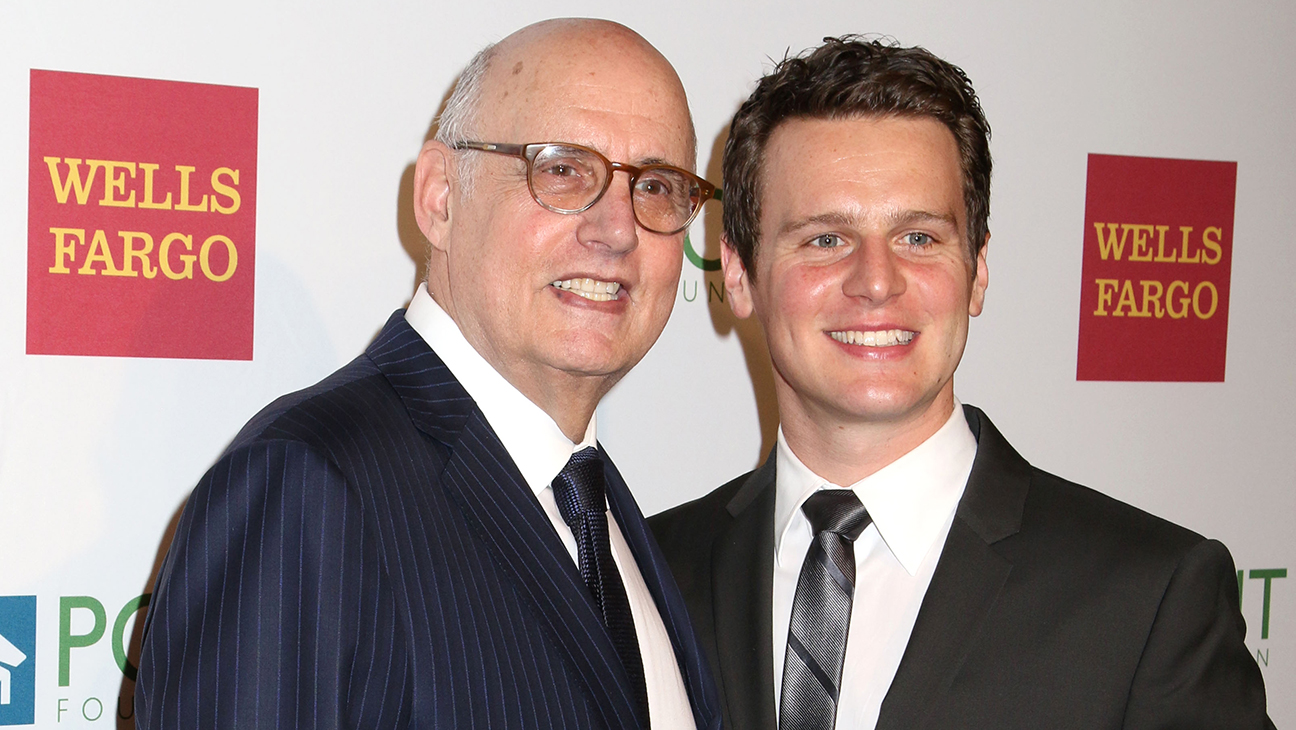 Jeffrey Tambor Jonathan Groff Point Foundation Gala H 2015