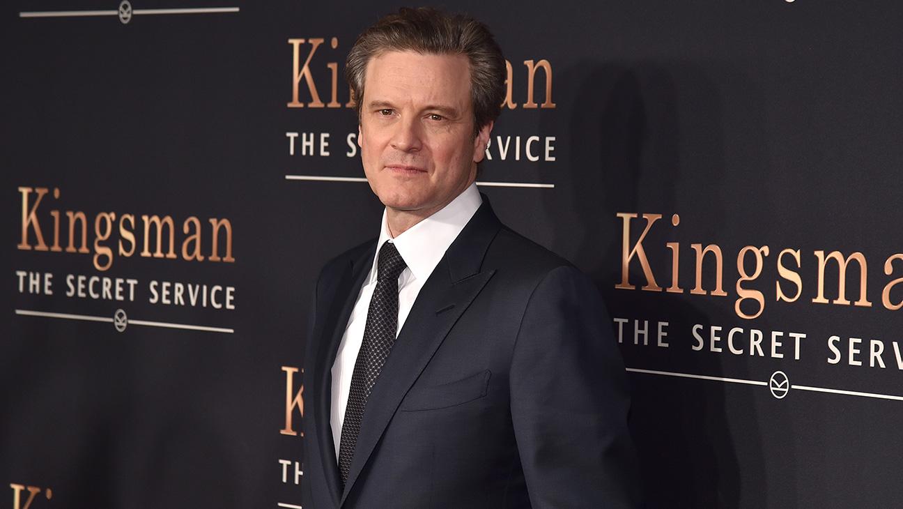 Colin Firth Kingsman Premiere - H 2015