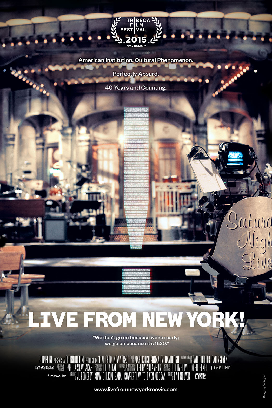 Live From New York! SNL Doc Poster - P 2015