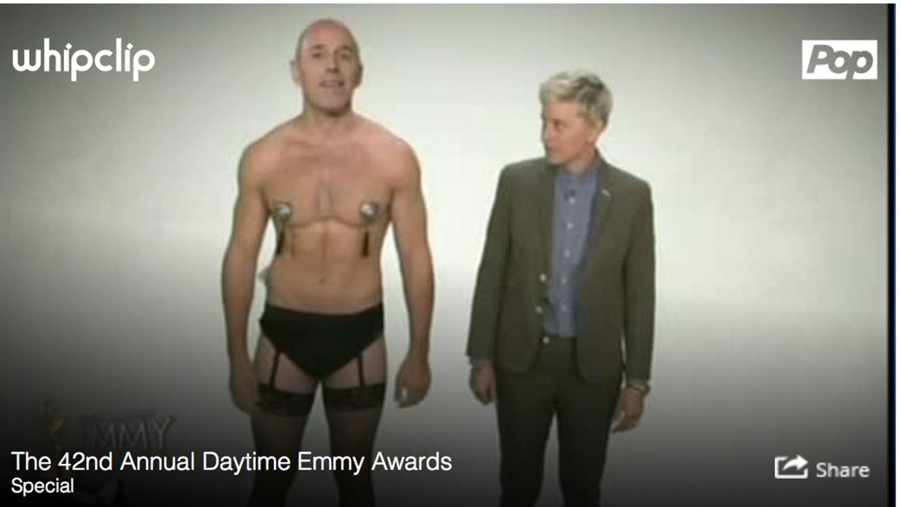 Daytime Emmys Matt Lauer Ellen DeGeneres 2 - H 2015