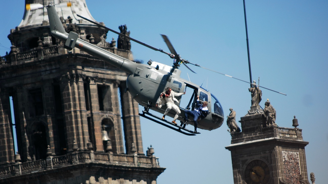Mexico City Spectre Filming - H - 2015