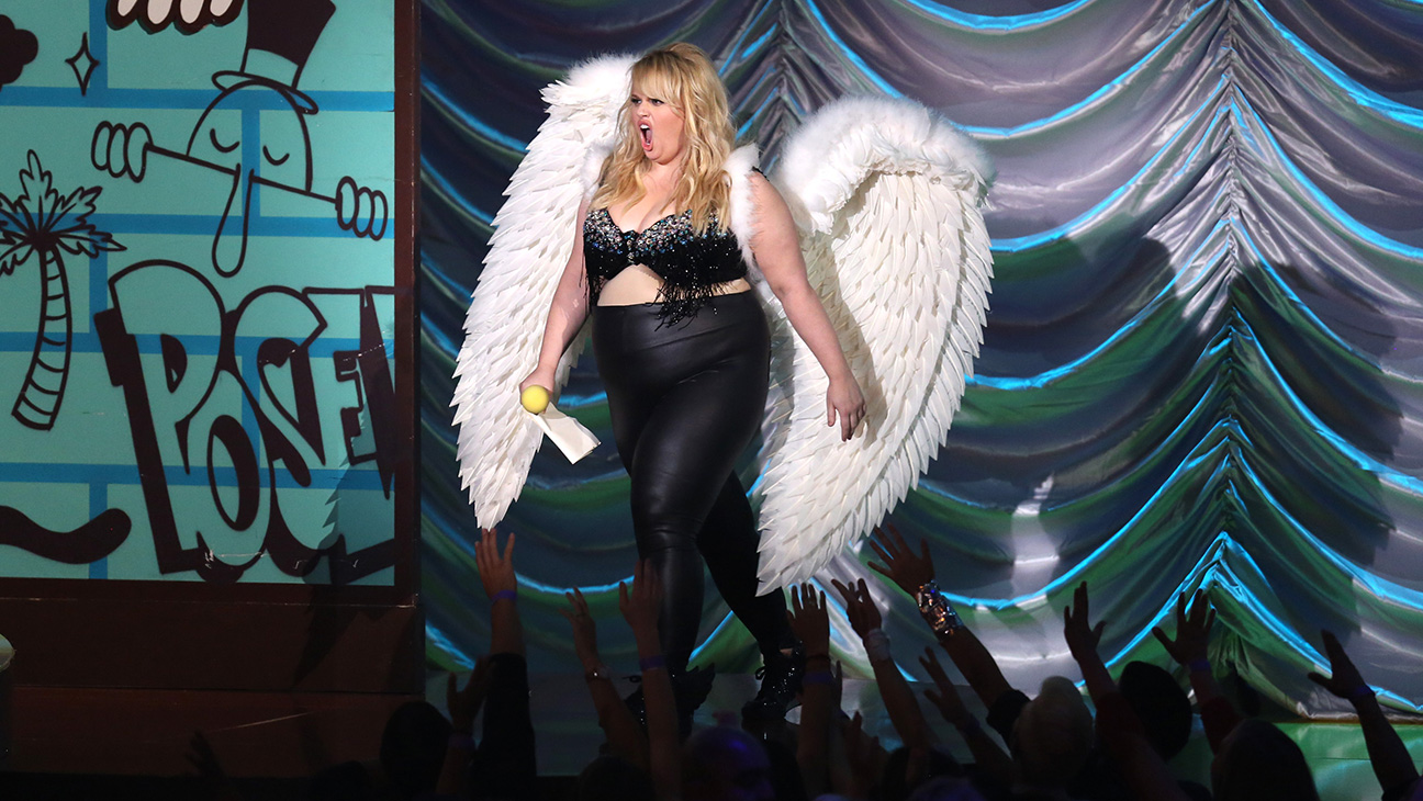 Rebel Wilson MTV Movie Awards 2015 - H