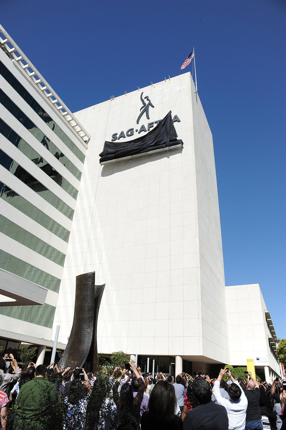 SAG AFTRA HQ Signage - P 2015