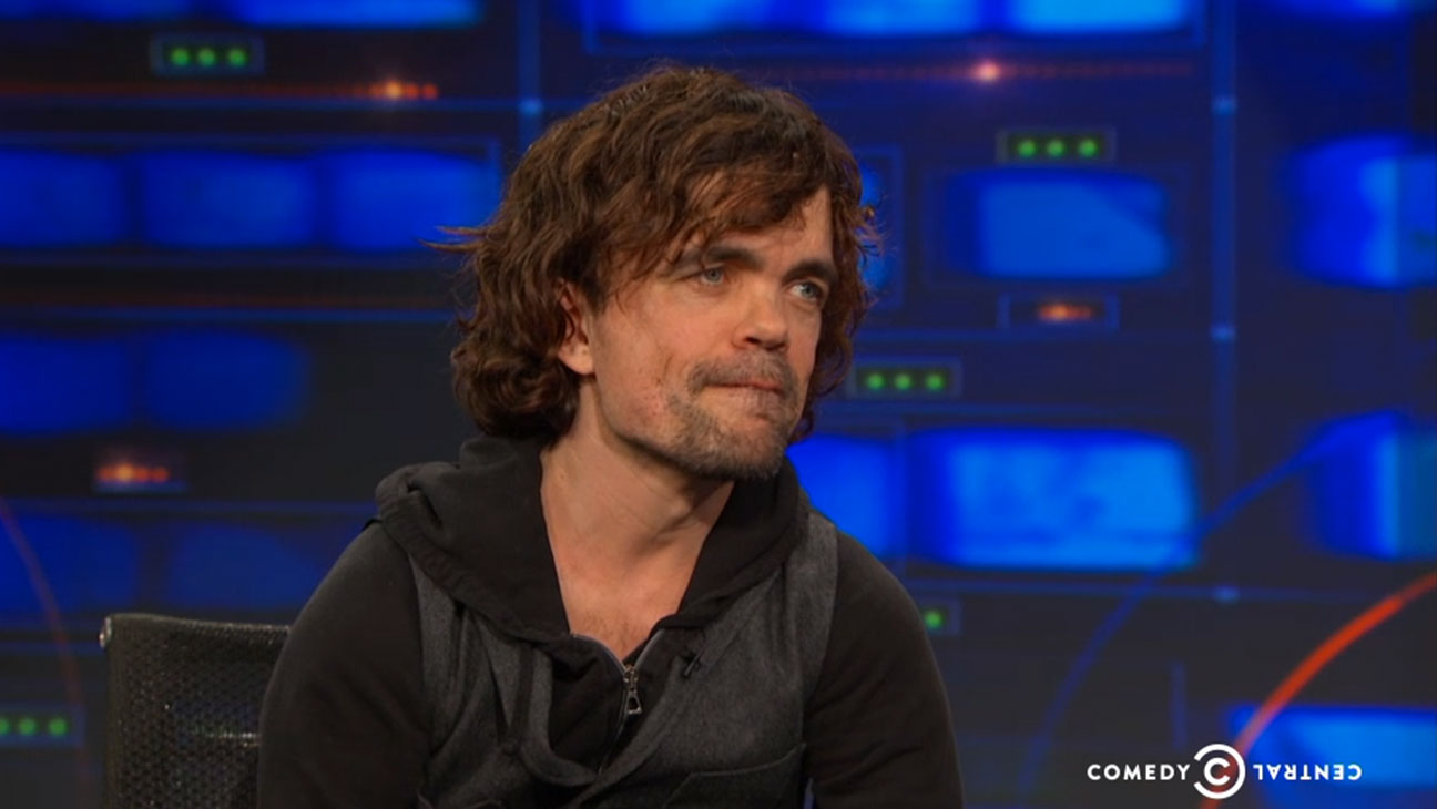 Peter Dinklage Daily Show - H 2015