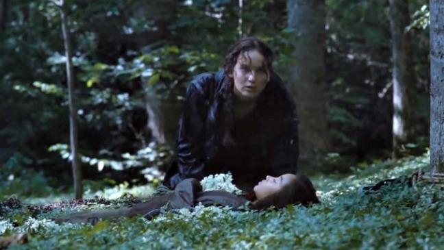 Hunger Games Katniss Rue Still - H 2015