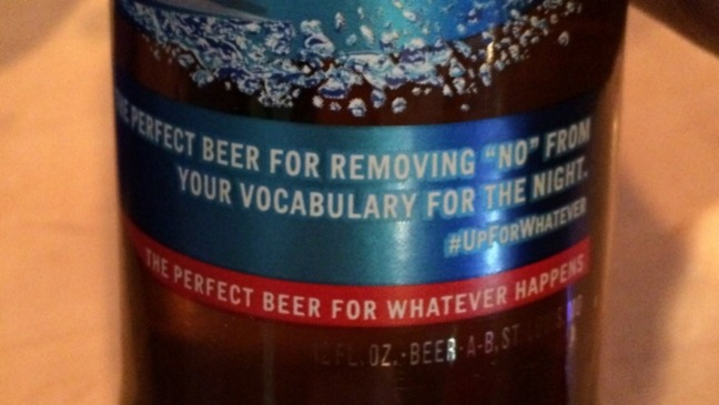Bud Light Label Removing No - H 2015