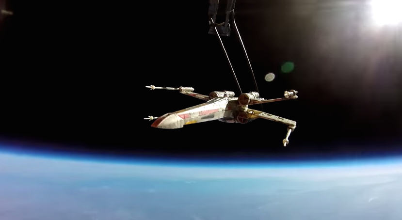 X-Wing in Space H 2015