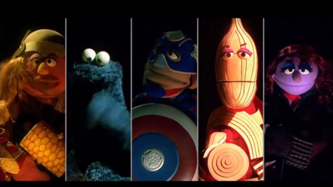 Sesame Avengers Parody - H - 2015
