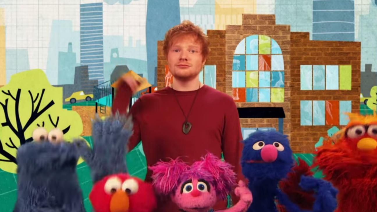 Ed Sheeran on Sesame Street - H 2015
