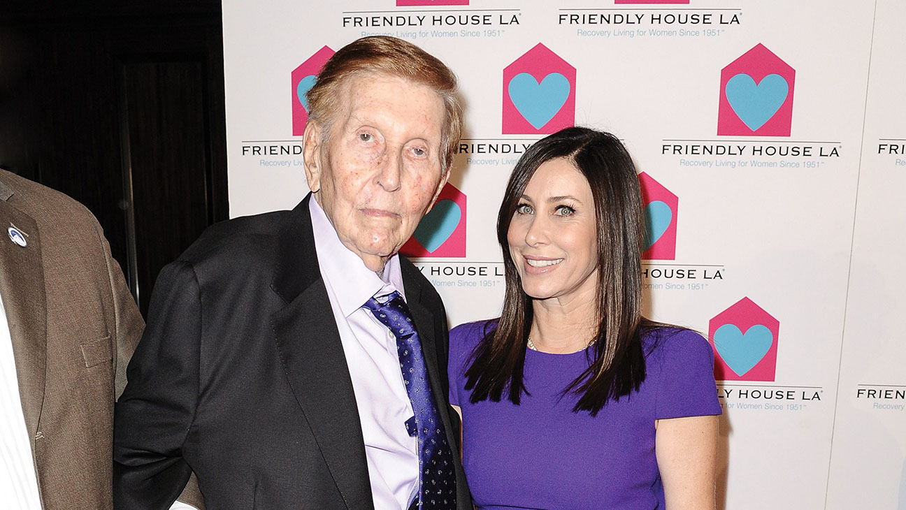 Sumner Redstone's Girlfriend Settles - H 2015
