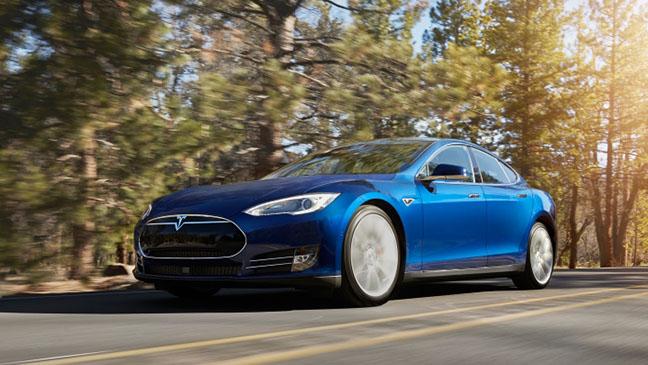 Tesla model s 70D - H 2015