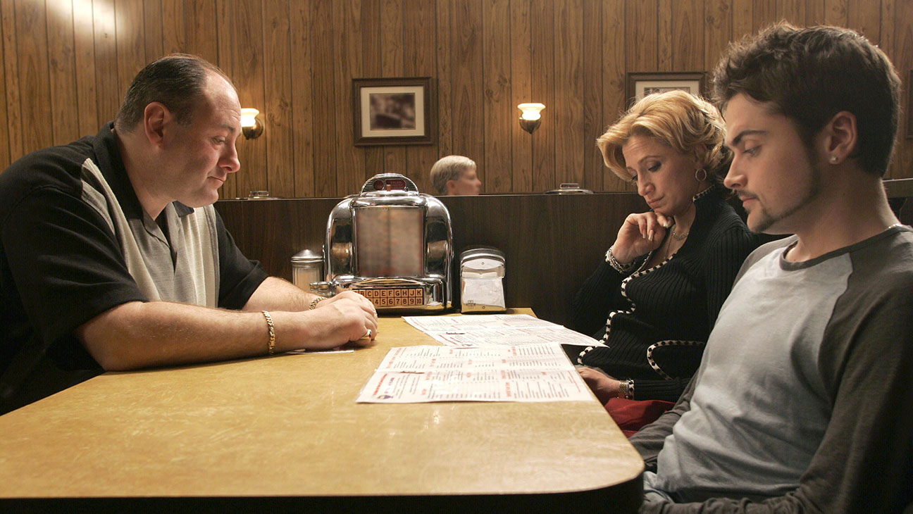 The Sopranos Final Scene Still - H 2015