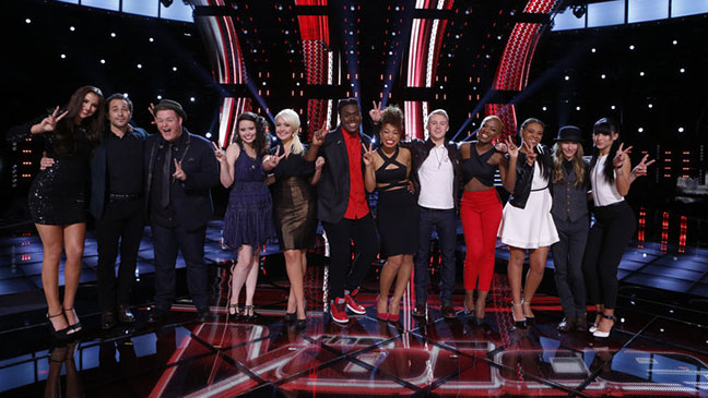The Voice Top 12 Perform - H 2015