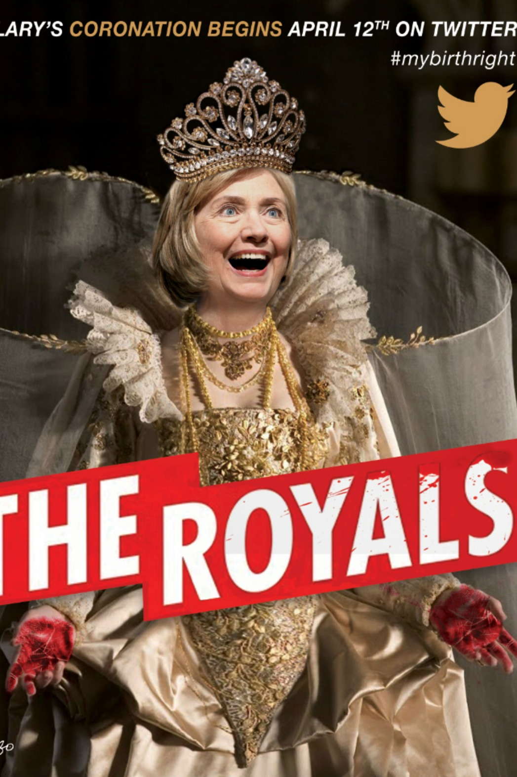Hillary Clinton The Royals Posters - P 2015