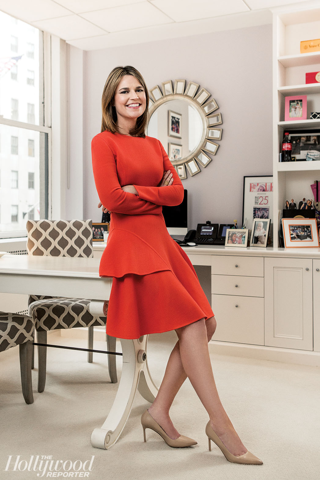 Savannah Guthrie Spends Only Three Hours A Day In Her Sassy Office Hollywood Reporter