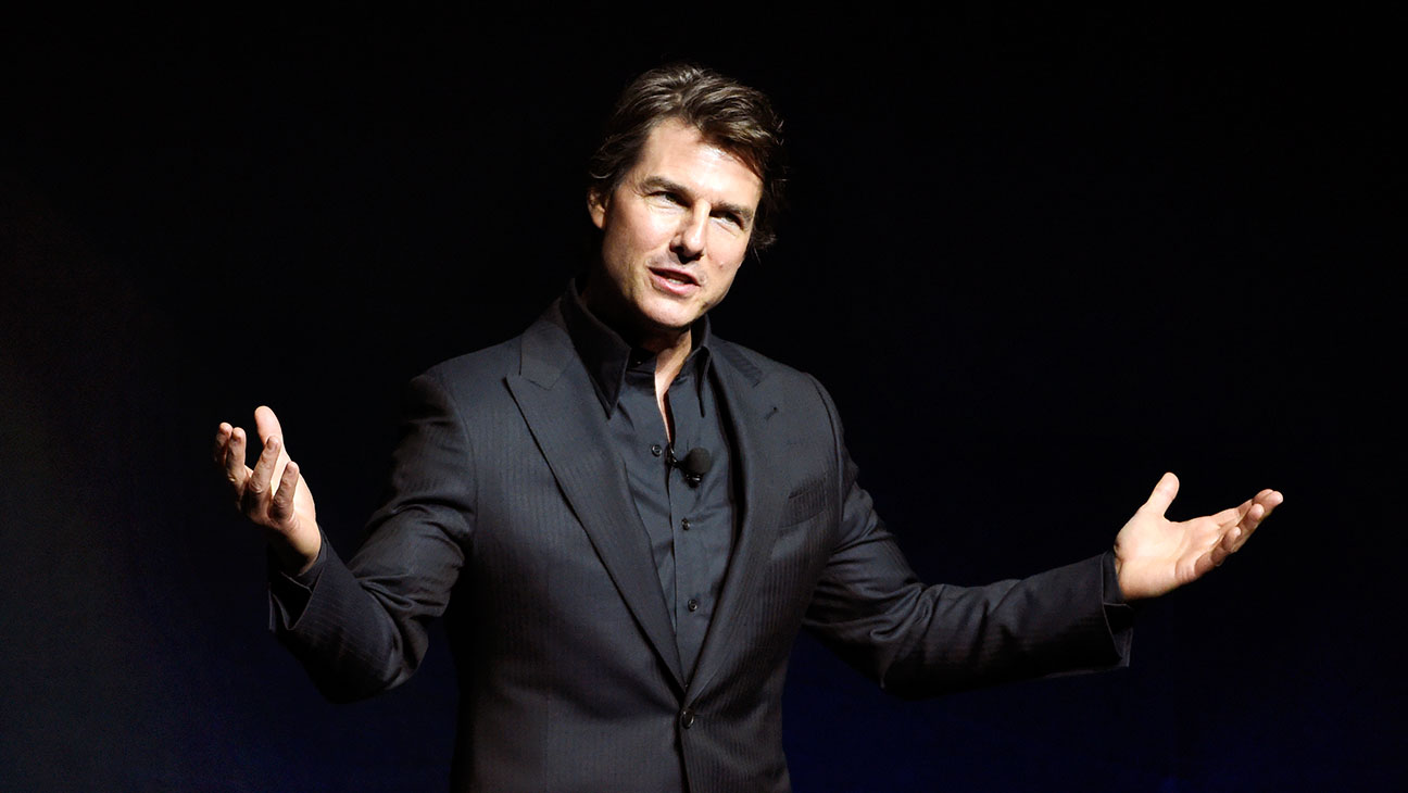 Tom Cruise CinemaCon - H 2015