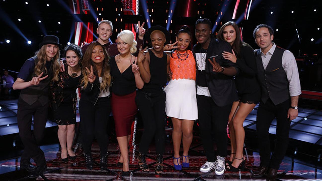 Voice Top 10 Perform - H 2015