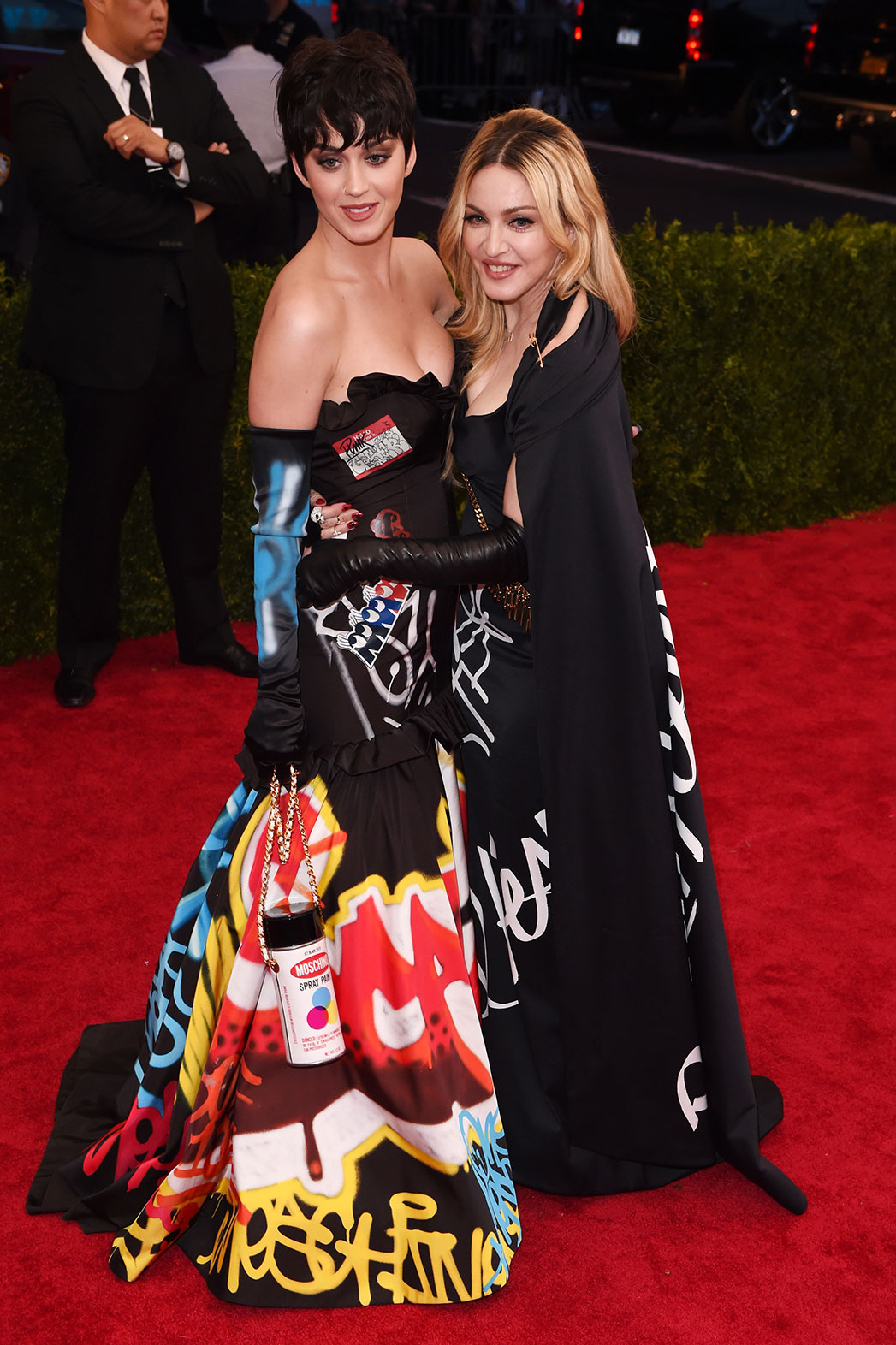Katy Perry and Madonna