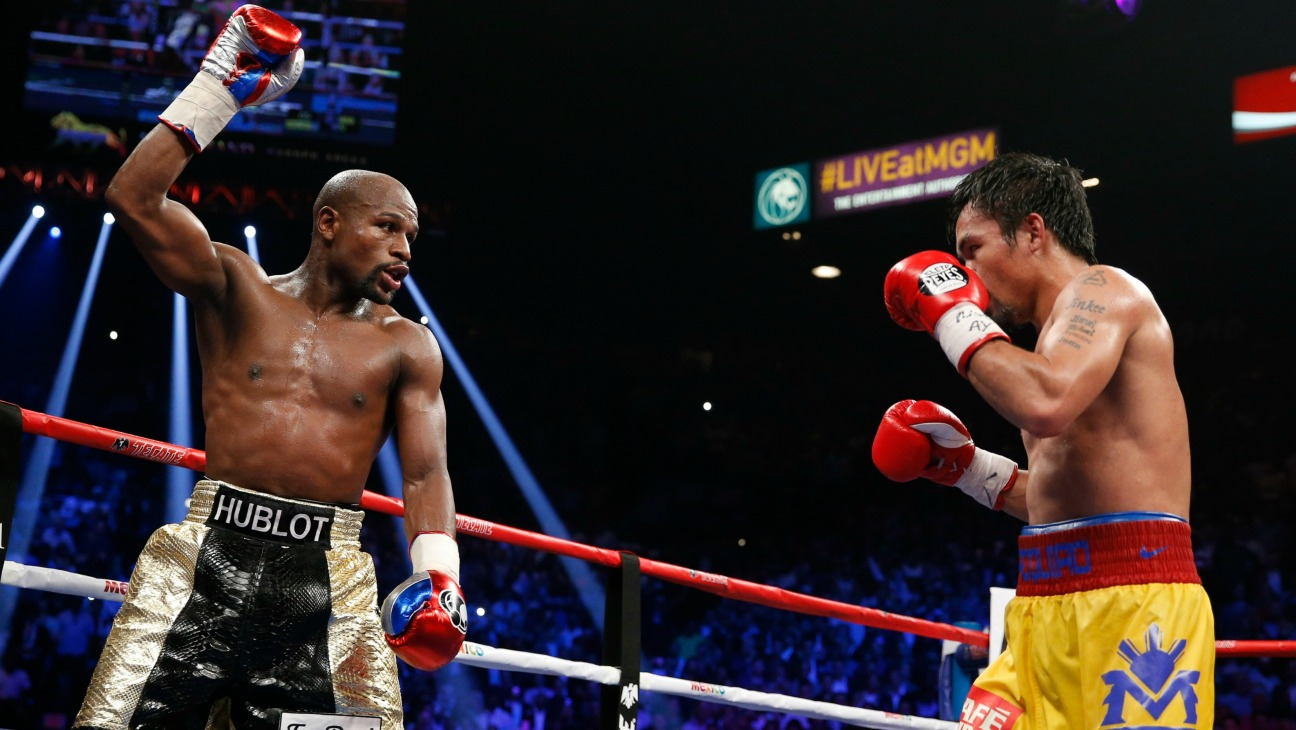 Floyd Mayweather Jr. Manny Pacquiao - H 2015
