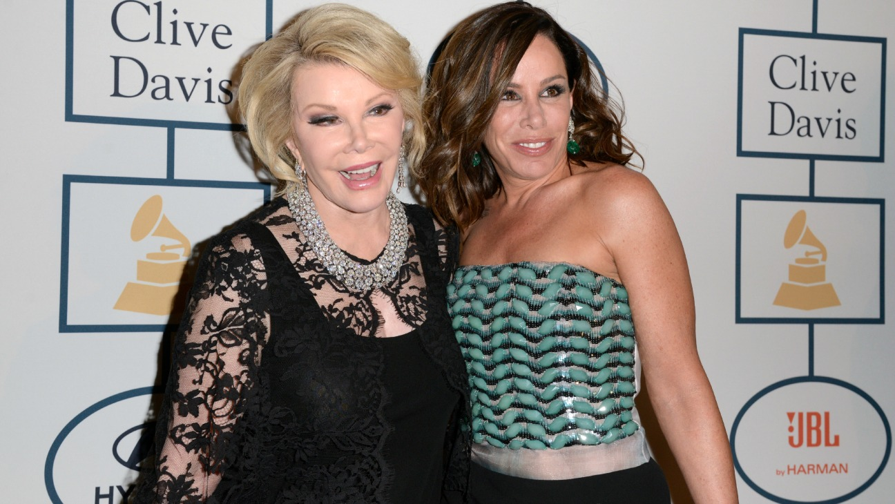 Joan Rivers Melissa Rivers - H 2015