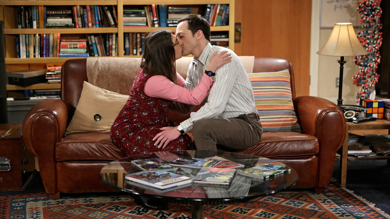Big Bang Theory Kiss - H 2015