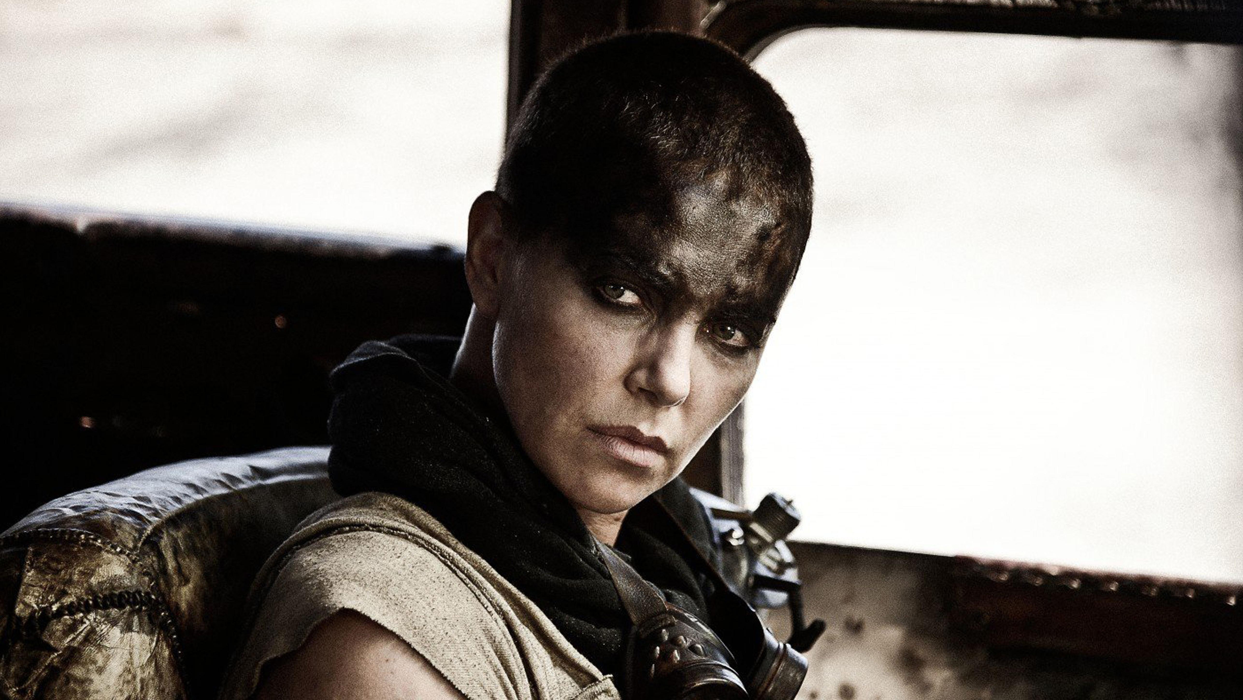 Charlize Theron Mad Max Still - H 2015