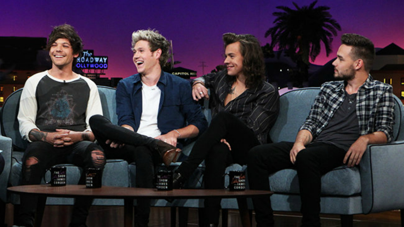 One Direction on James Corden - H 2015