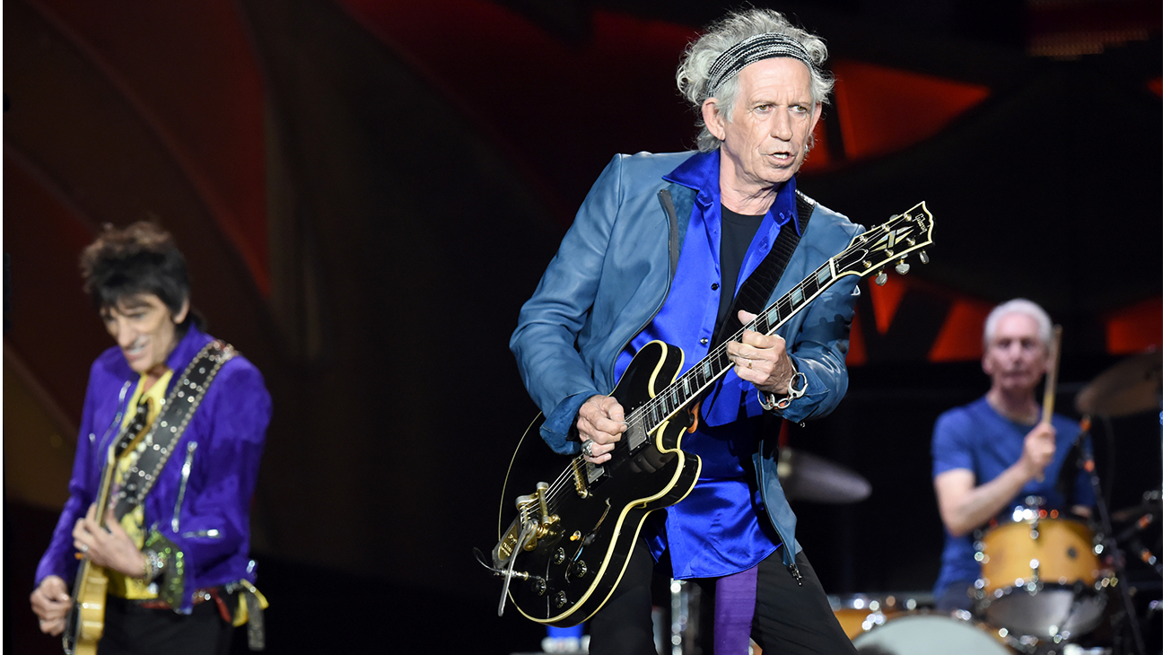 Rolling Stones Keith Richards 2015 H