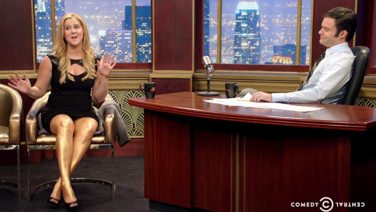 Amy Schumer Mocks Late Night - H 2015