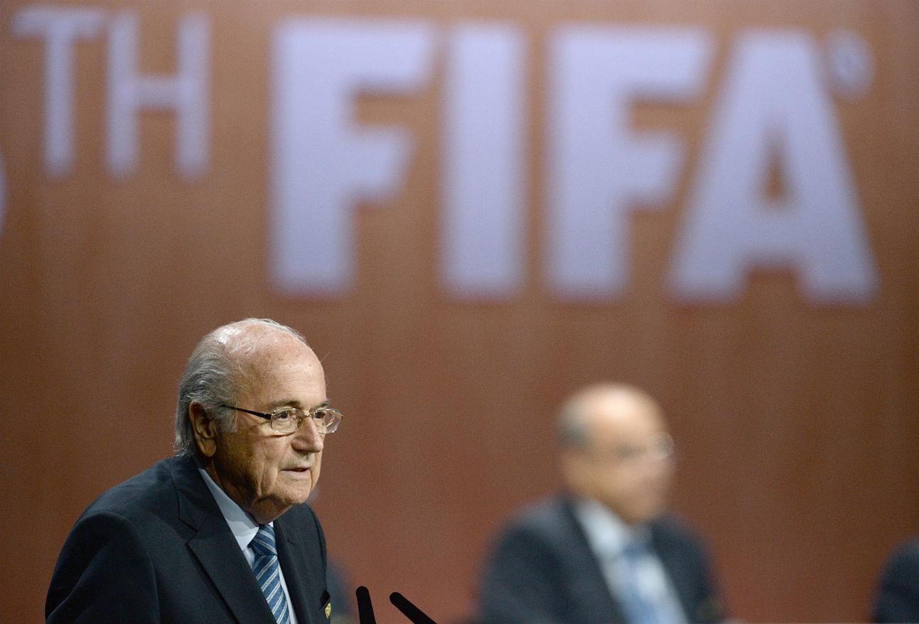 Sepp Blatter FIFA Congress 2015