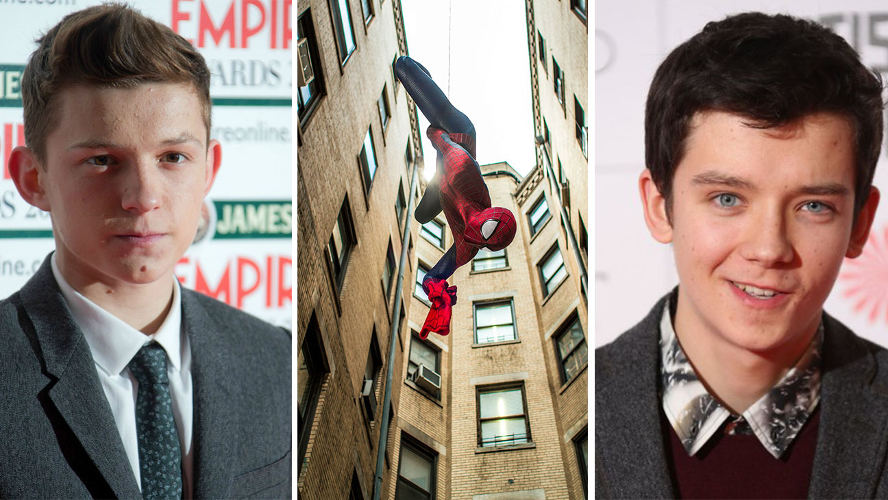 Tom Holland Spider-Man Asa Butterfield Split 2 - H 2015