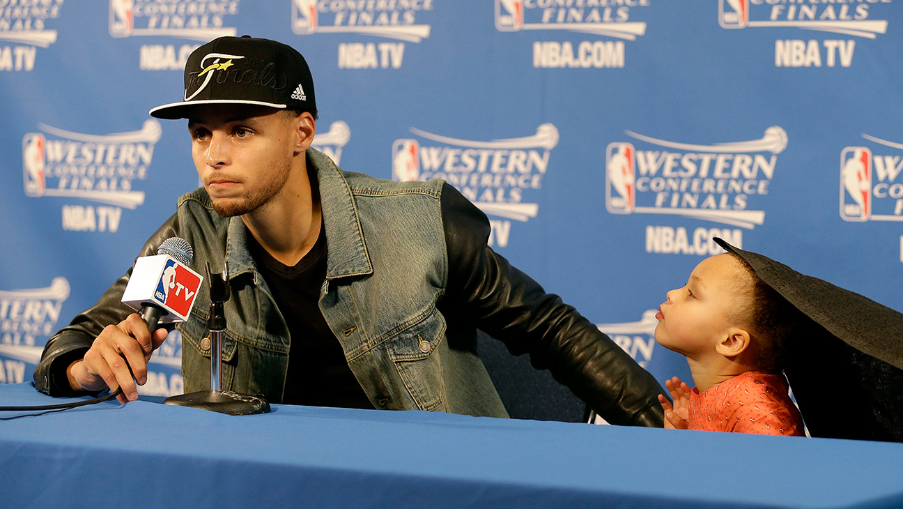 Stephen Curry Riley Curry - H 2015