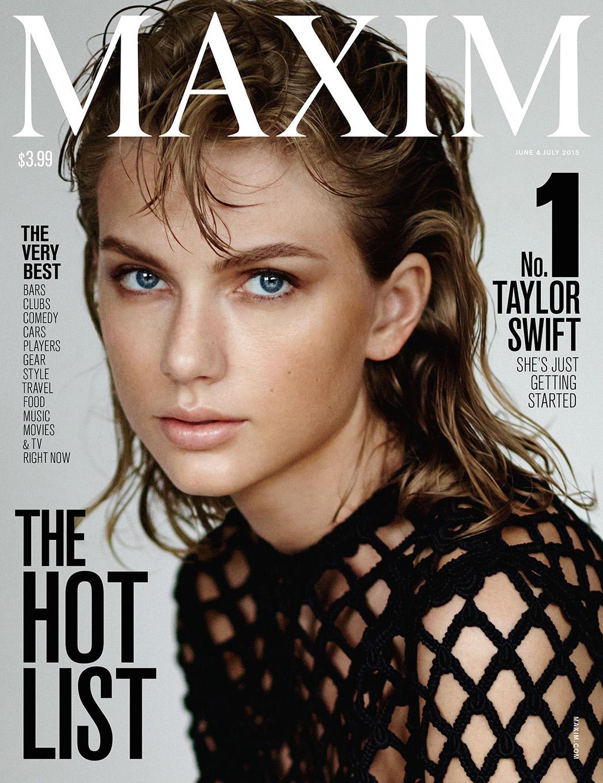 Taylor Swift Maxim Cover - P 2015