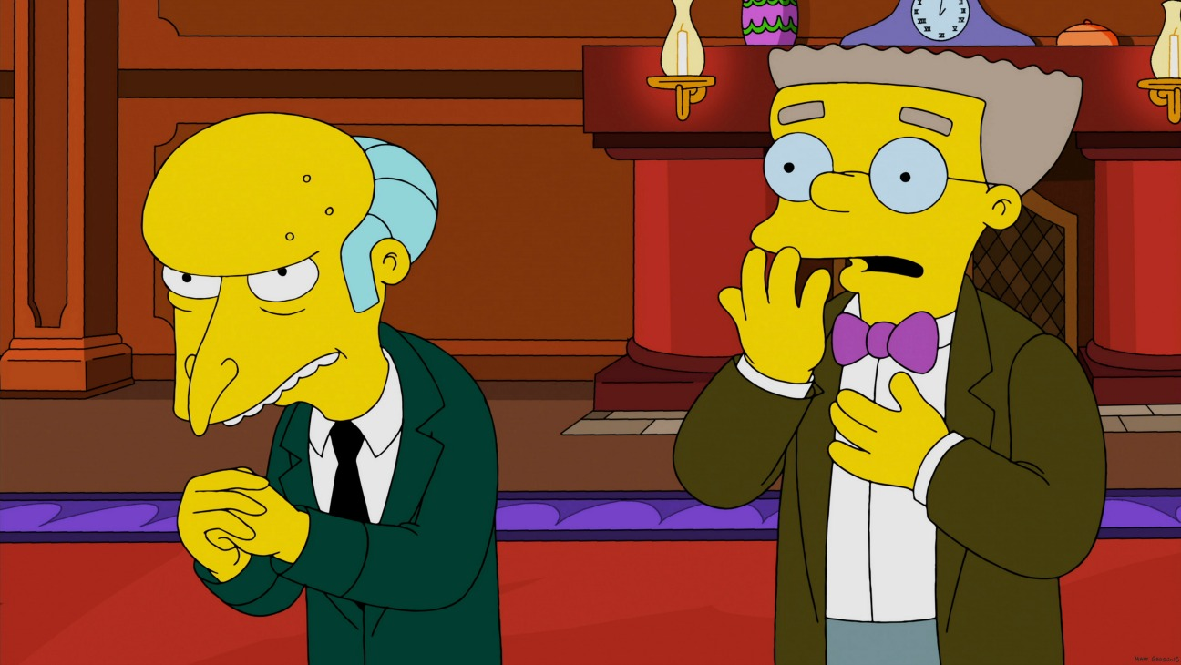 The Simpsons Mr. Burns Smithers - H 2015