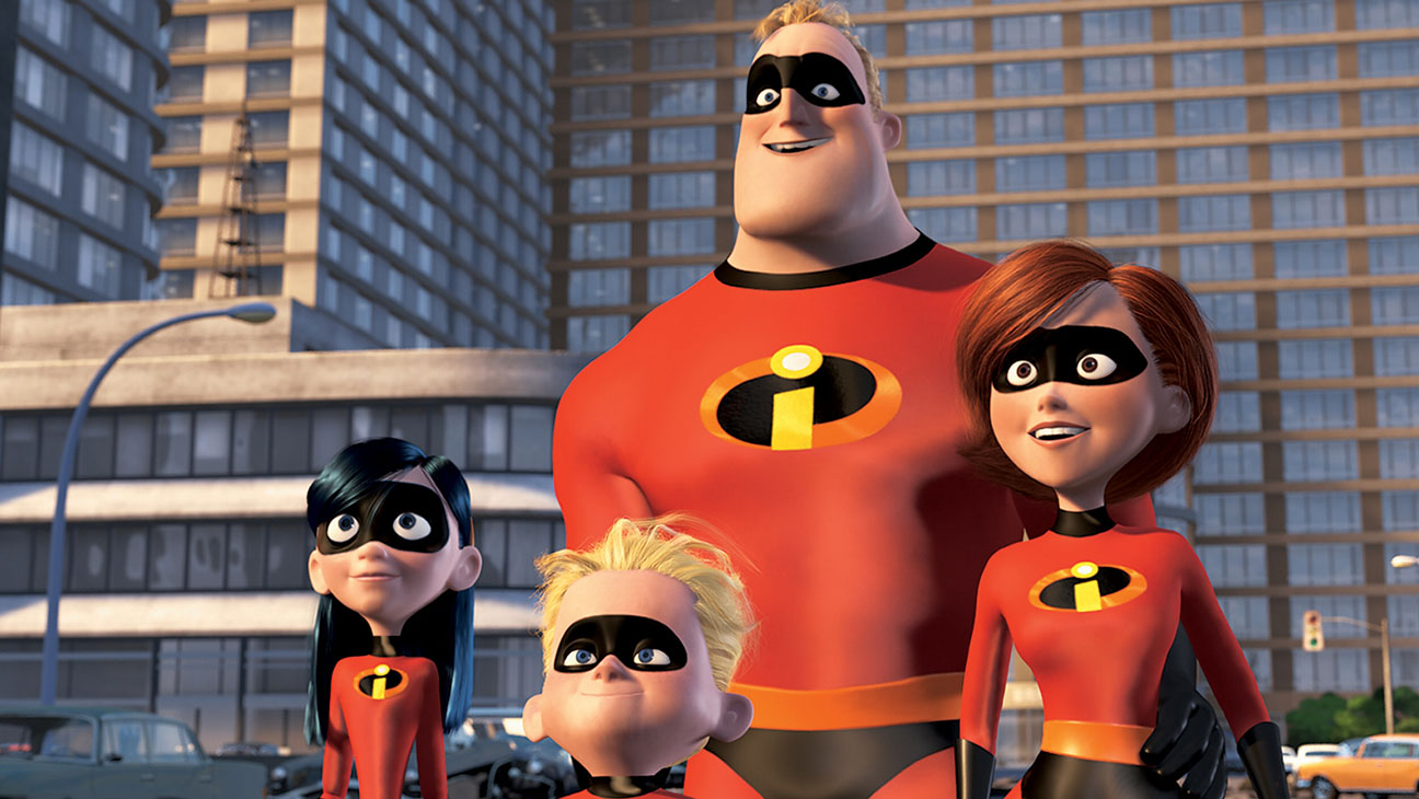 7. 'The Incredibles' (2004)