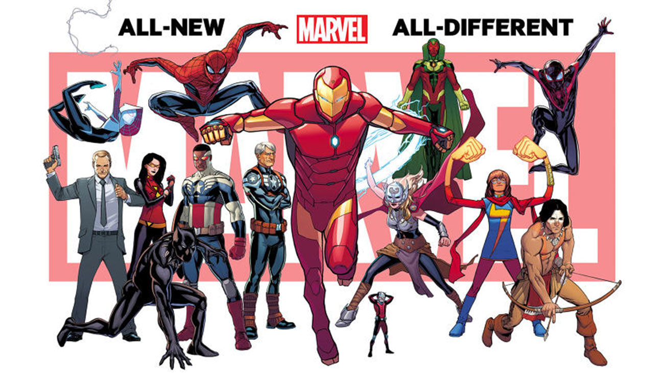 All-New All-Different Marvel - H 2015