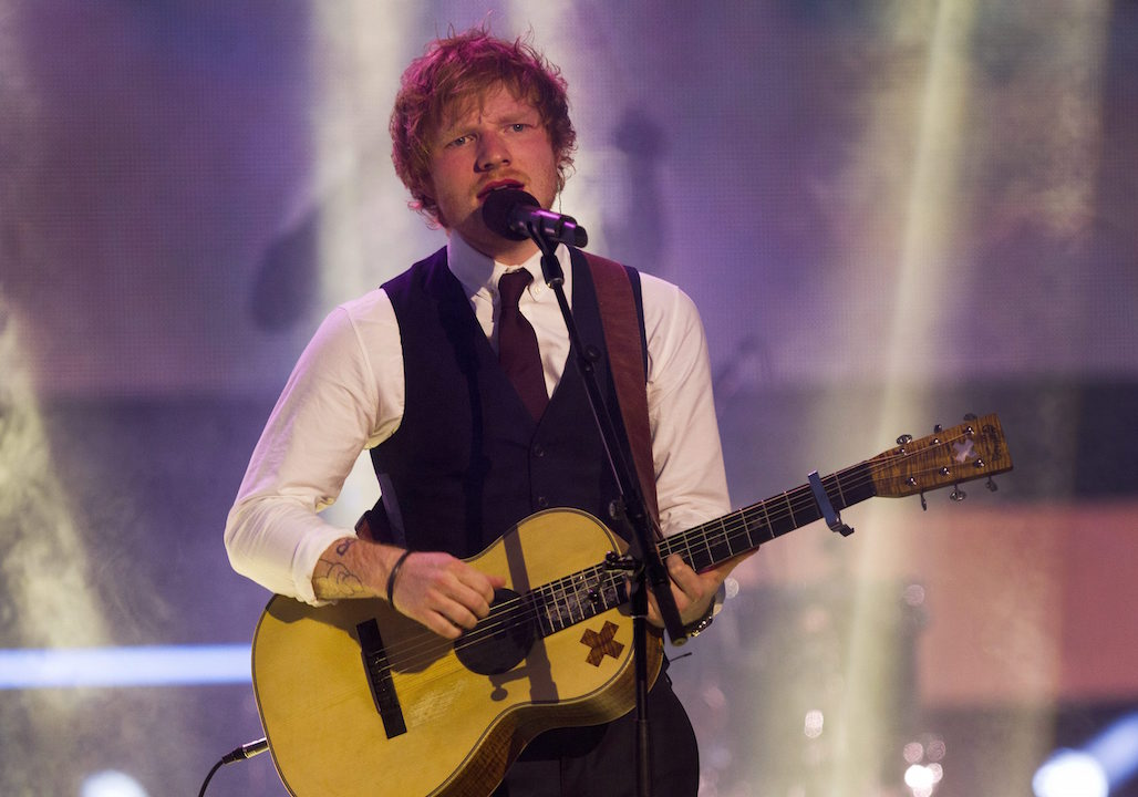 Ed Sheeran Much Music Awards H 2015