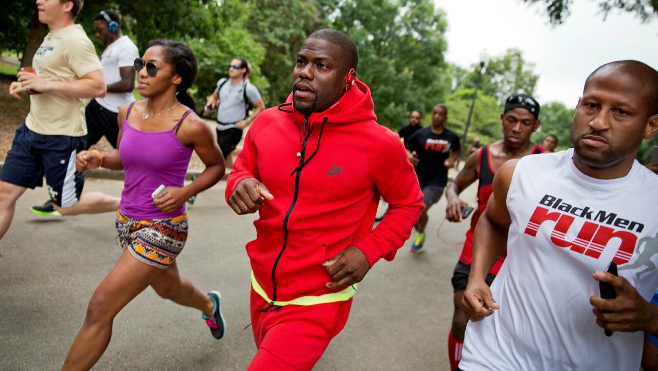 Kevin Hart Runs 5K - H 2015