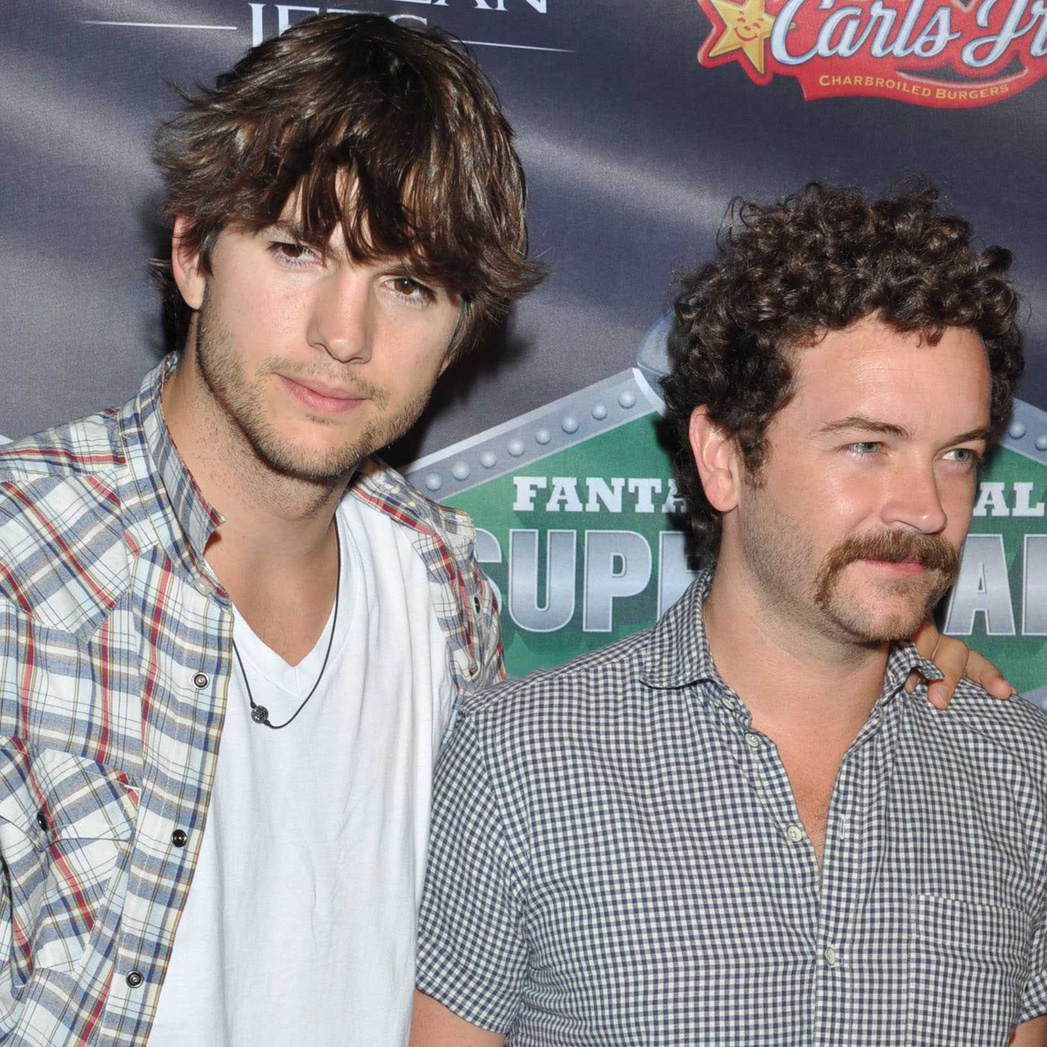 Ashton Kutcher and Danny Masterson - S 2015