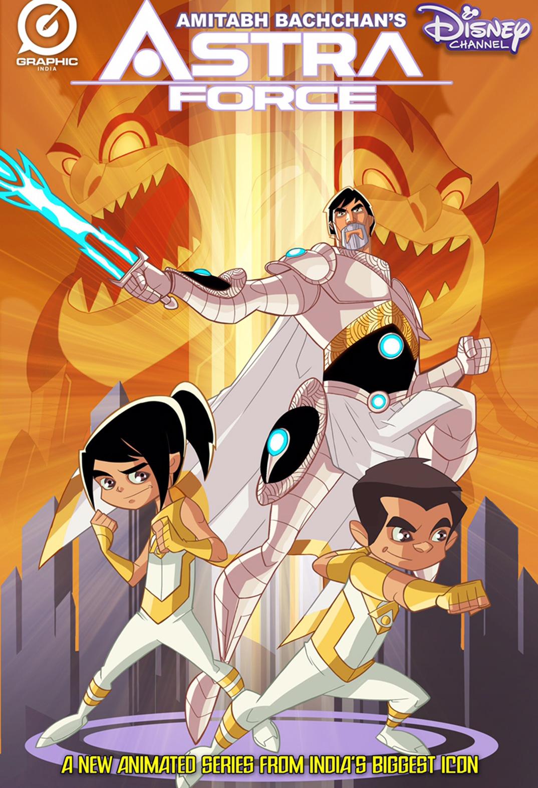 Astra Force, Disney India