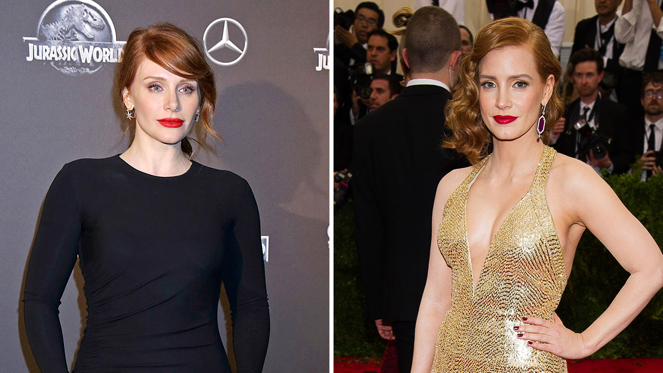 bryce dallas howard jessica chastain Split - H 2015