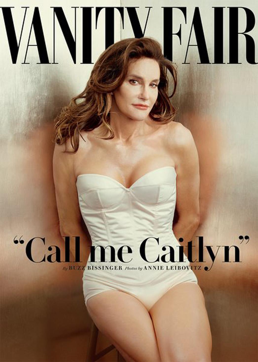 Bruce Caitlyn Jenner Vanity Fair Cover - P 2015