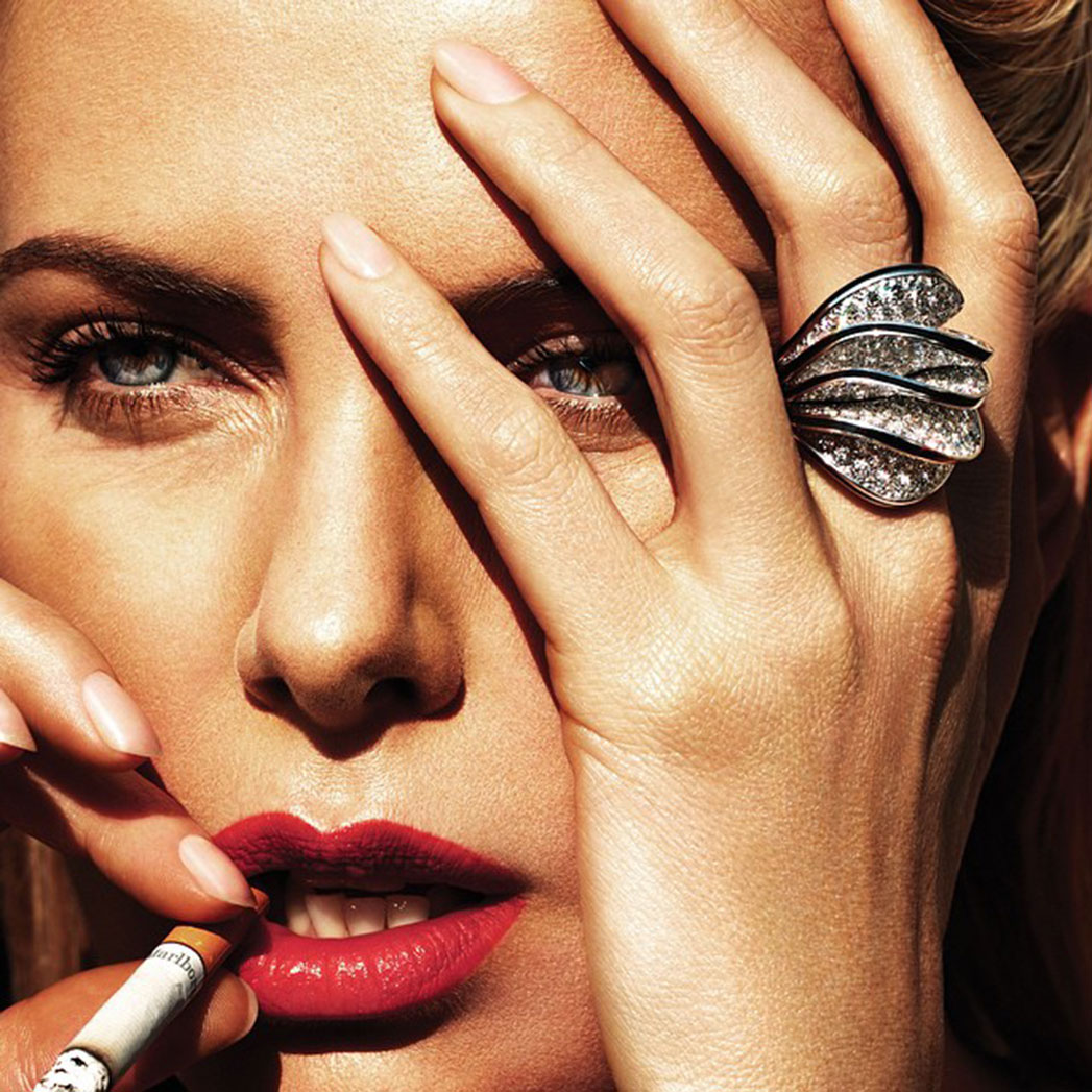 Charlize Theron Nails - S 2015