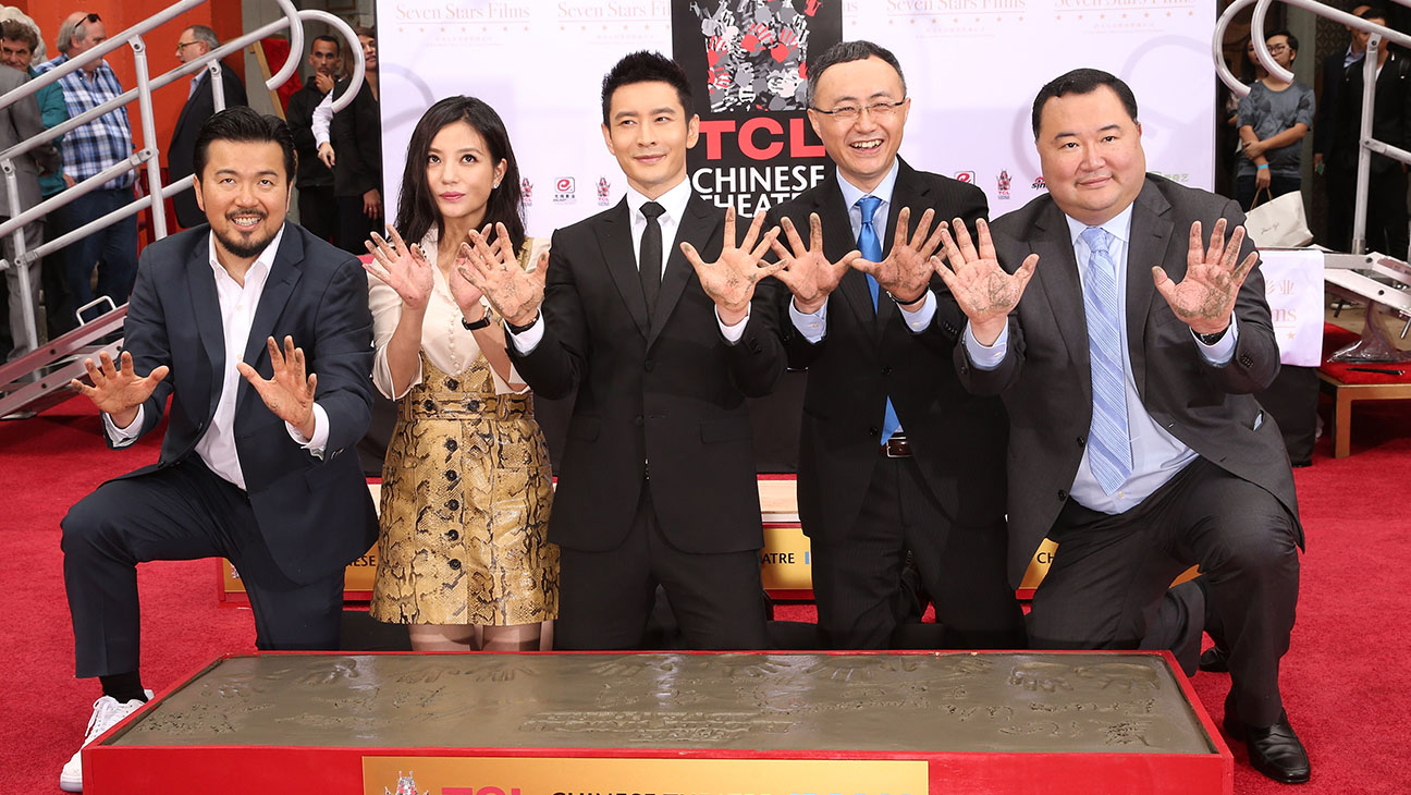 Chinese Theater 88th Birthday and Handprint Ceremony - H 2015