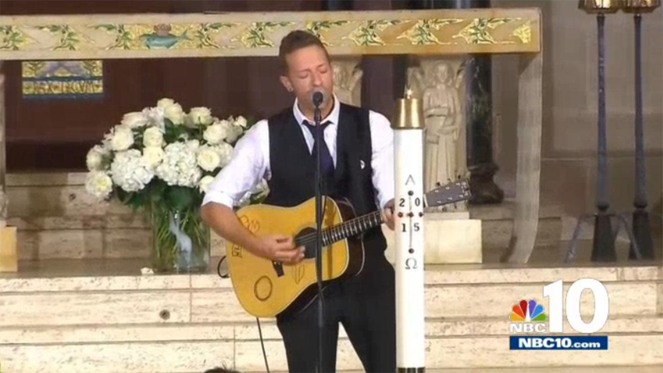 Chris Martin Beau Biden Funeral - H
