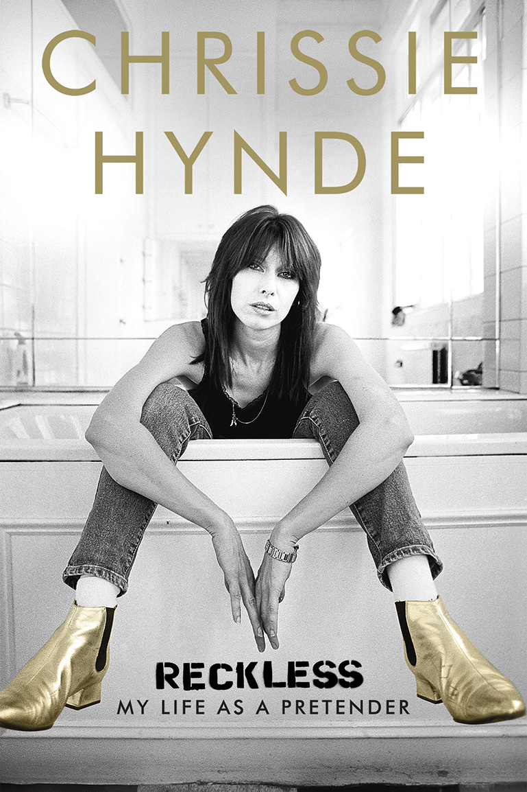 Chrissie Hynde Book Cover - H 2015