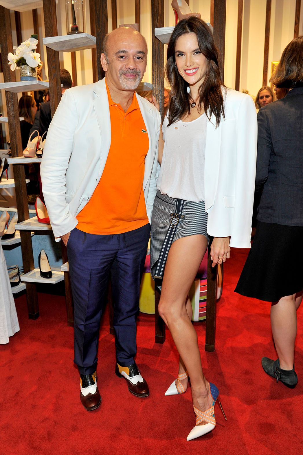Christian Louboutin Alessandra Ambrosio Brentwood Country Mart - P 2015