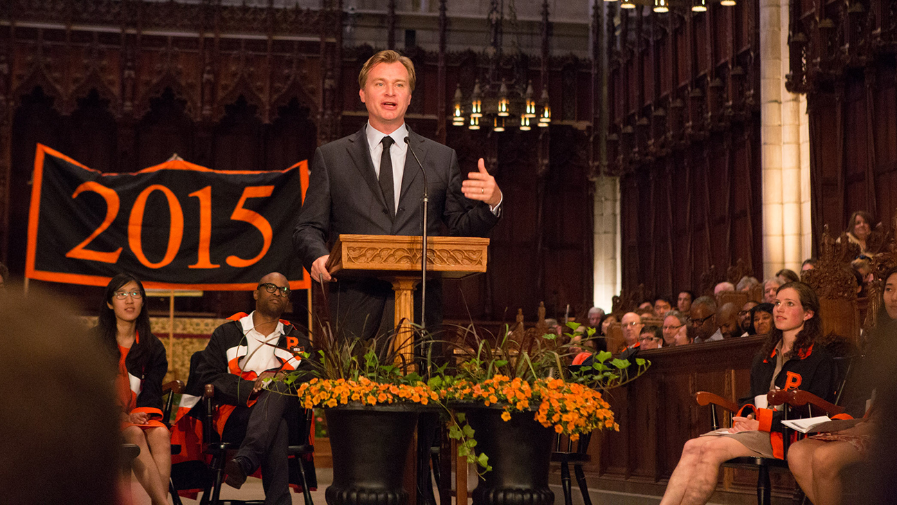 Christopher Nolan Princeton H 2015