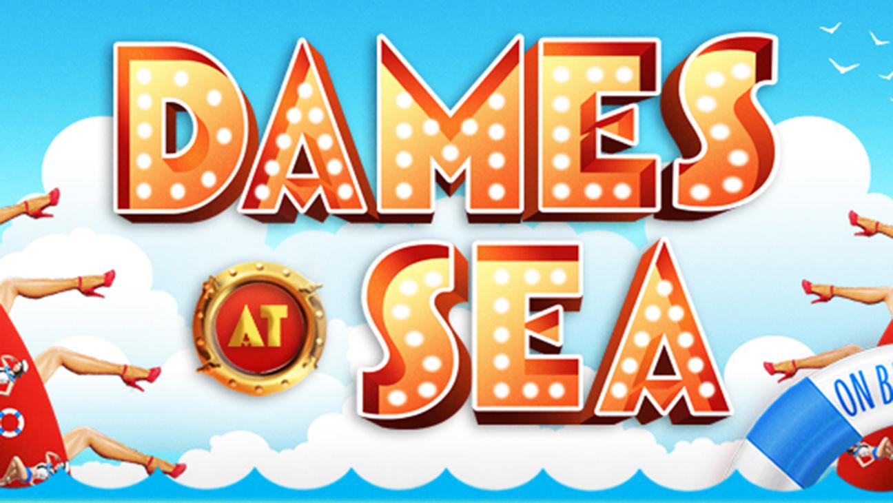 Dames at Sea Logo - H 2015