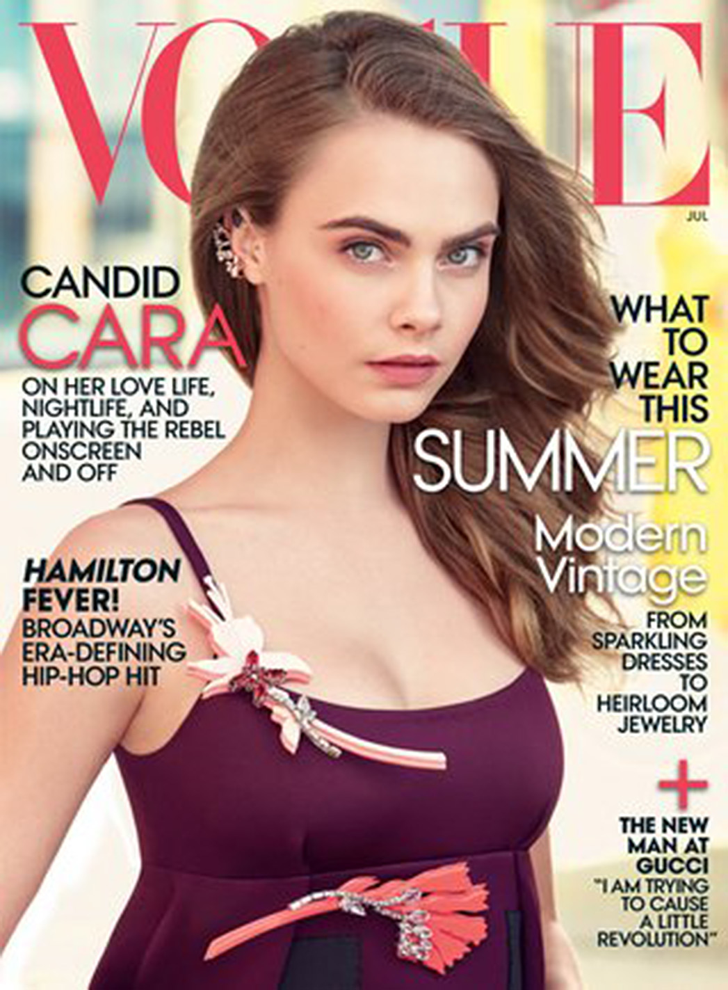 Cara Delevingne Vogue Cover - P 2015